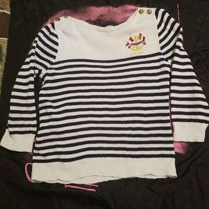 Lauren Ralph Lauren Striped Nautical Sweater